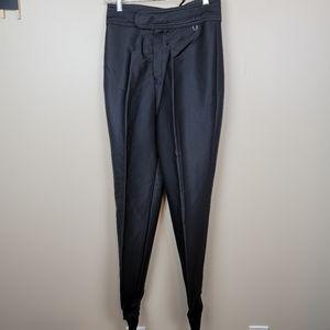 Vintage Black Schoeller Ski Fans Pants size 10L